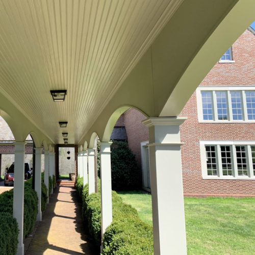 Breezeway to Estate Home